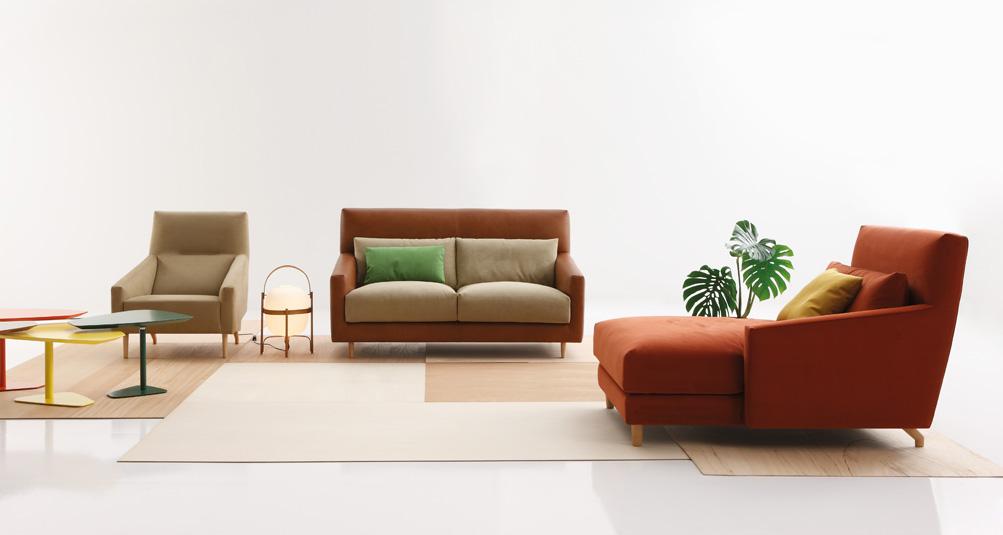 Sof folk de rafa garc a para sancal mueble decoraci n for Sofa folk sancal